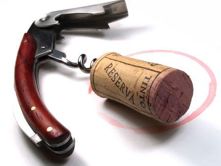vin de cork et vin ouvreur