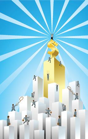 rope ladder: Reto empresarial
