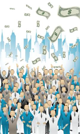 pioneer: Money monde  Illustration