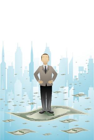 Money World Vector