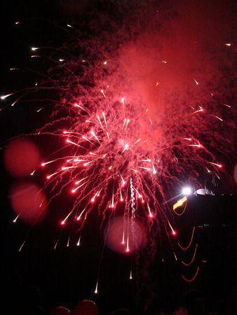 Night Fireworks 01 Stock Photo - 564072