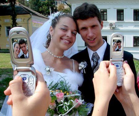 Wedding Photo Session Stock Photo
