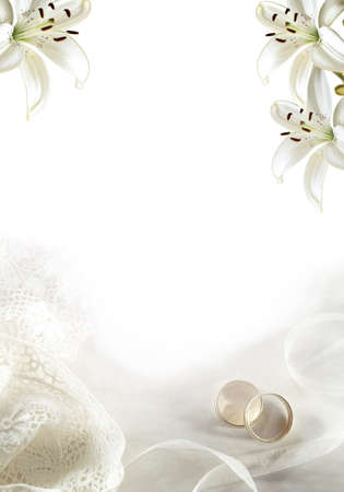 Wedding greeting blank 02