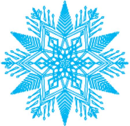 aloneness: Snow flake