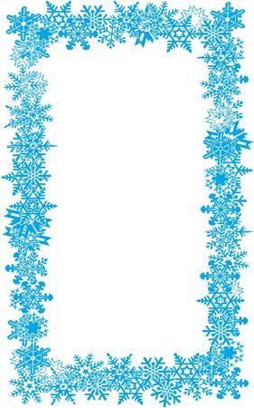 fiambres: Snow Flake frontera 01