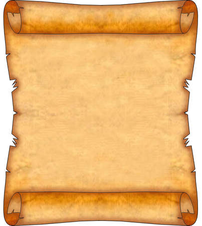 Blank Ancient Scroll 08