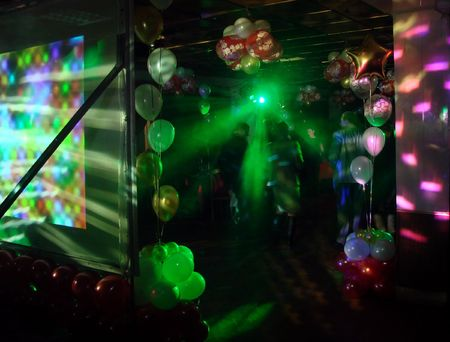 nightspot: Lighting machine illumination