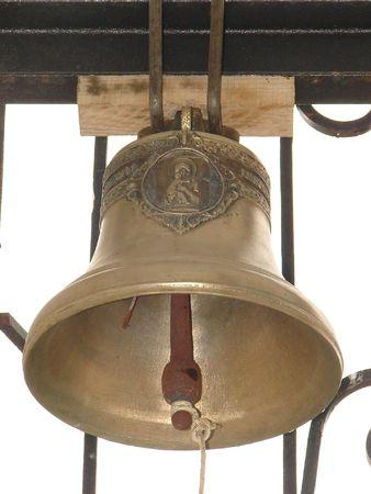 Bronze Ukrainian orthodox church bell 07 photo