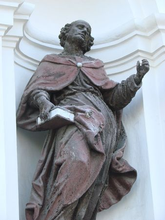statue of ancient christian apostle 3 photo