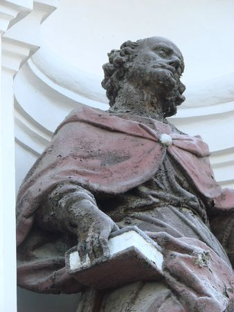 statue of ancient christian apostle 2 photo