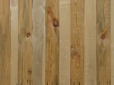 openair: Wood texture of pine fence