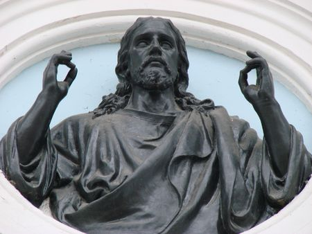 stony: Stony portray figure of Jesus Christ