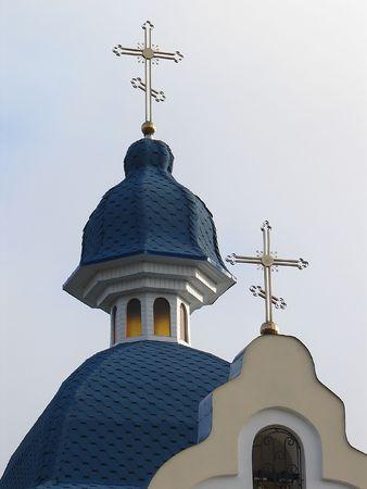 minster: Modern Ukrainian Orthodox Churchs building