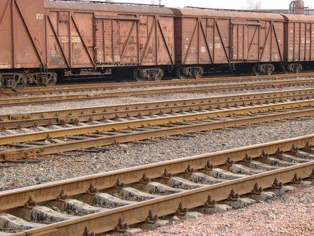 railway transportation: Railway transportation wagons
