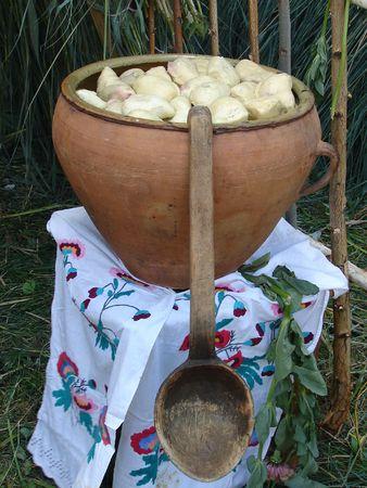 Traditional Ukrainian festive dinner meals 10 photo