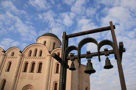 street creed: Bohorodytsi Pyrohoshchi Church in Kyiv, Ukraine