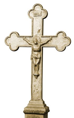 minster: Holy cross with figure of crucified jesus christ