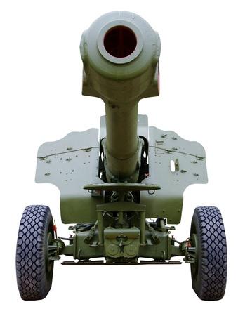 fearing: artillery howitzer stem forward closeup