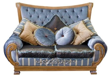 divan: Sofá tradicional oriental Foto de archivo
