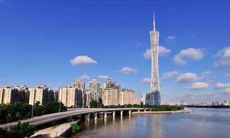 guangzhou: Guangzhou Tower scene