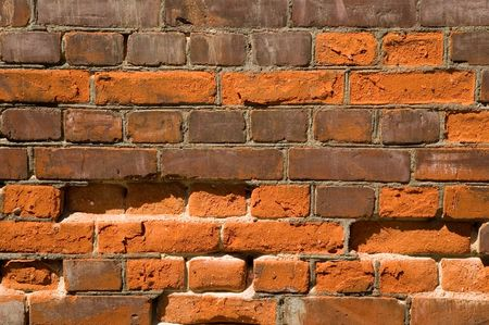 tilable: Brick Background Texture Stock Photo