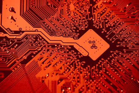 mainboard: Compter mainboard background texture Stock Photo
