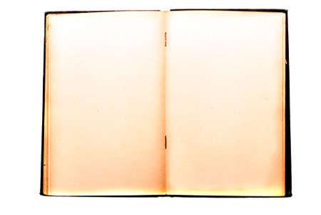 tooled leather: Vecchio libro isolato