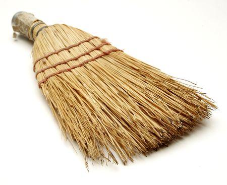 short broom Stock Photo