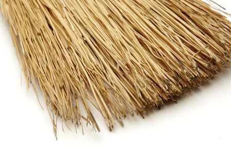 broom bristles