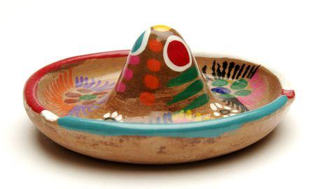 clay sombrero Stock Photo