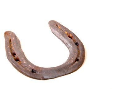 horse shoe: A horse shoe