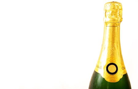 A bottle of Champagne Stock Photo - 2626377