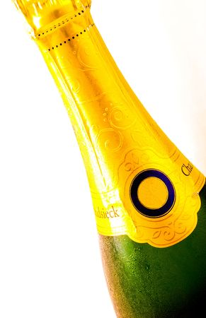 A bottle of Champagne Stock Photo - 2626379