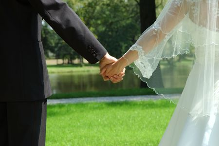 Just married Stock Photo - 2120202