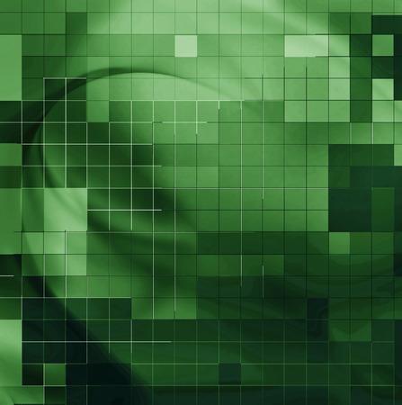 three dimensional background: Nice design background or fractal element