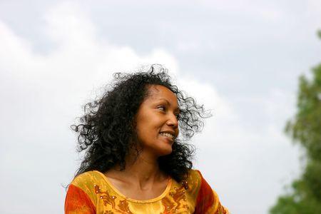 Happy smiling woman Stock Photo - 222633