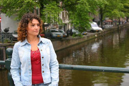 tunisian: Pretty tunisian girl in amsterdam