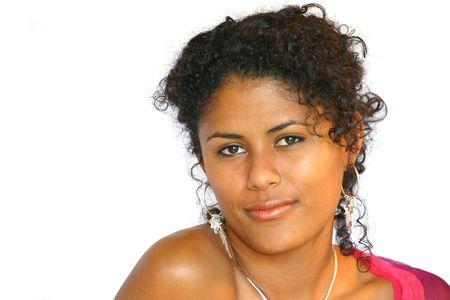 Beautiful brazilian woman photo