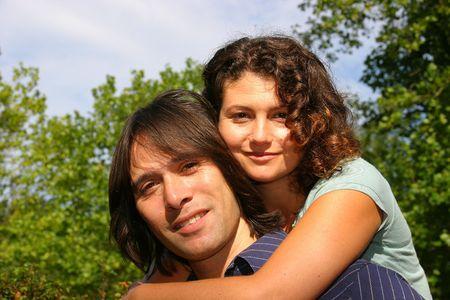 div: Attractive couple