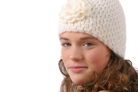 Winter beauty photo