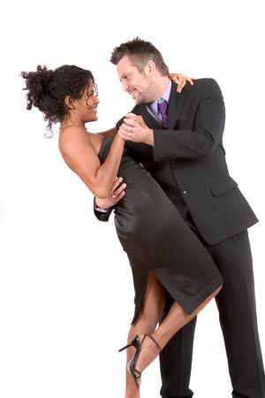 Dancing the night away Stock Photo