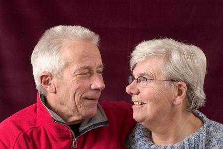 Happy senior couple Stock Photo - 524714