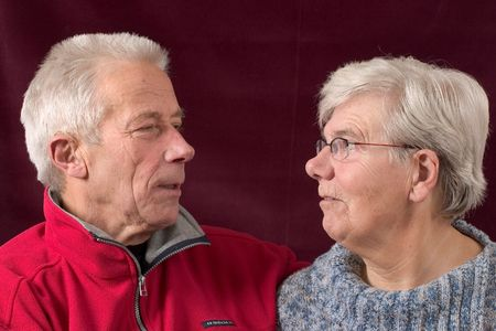 Senior couple photo