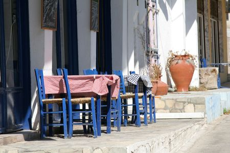 mentioned: Little greek restaurant by the side of the road (on the signs there are greek menu items mentioned)