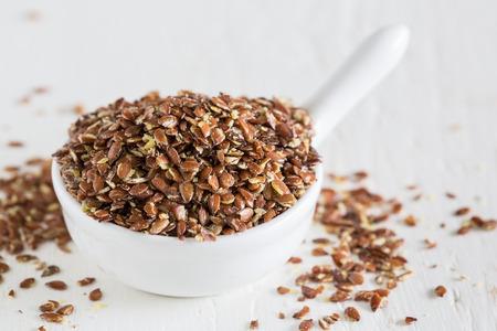 flax seeds: Flax seeds Stock Photo