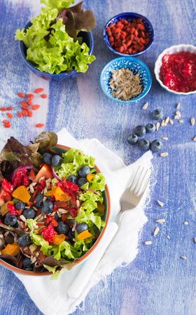 superfood: Superfood salad Stock Photo