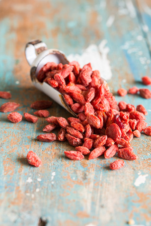 Goji berries are considered one of the superfoods Stock Photo