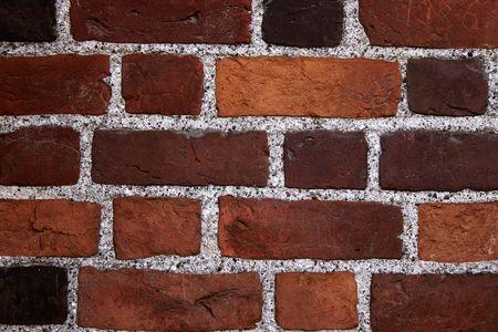 Mur de briques de couleur texture