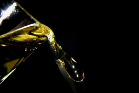 sputter: Oil splash Stock Photo