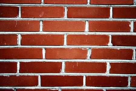 Classique mur de briques rouges de texture